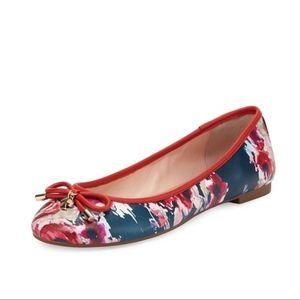 Kate Spade Wila Floral Print Ballet Flat